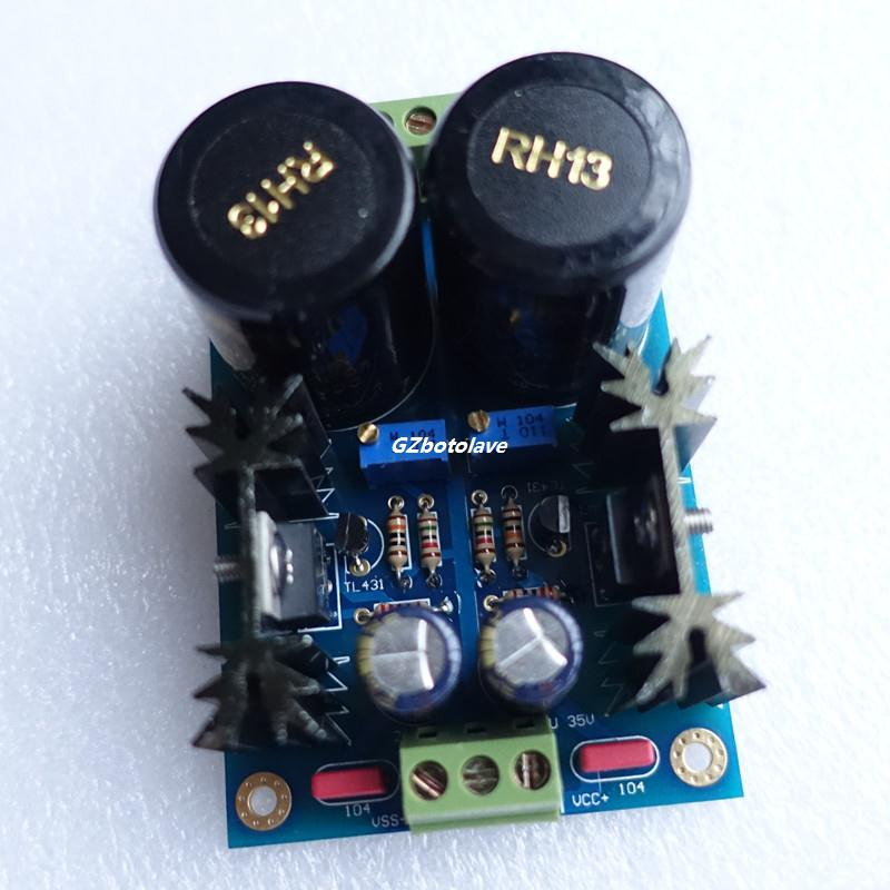 AC-DC TL431 LM317//337 High precision Linear Regulated Power Supply Module