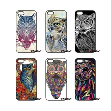Retro Vintage Owl Art Painting Animals Phone Case For Xiaomi Redmi Note 2 3 3S 4 Pro Mi3 Mi4i Mi4C Mi5S MAX iPod Touch 4 5 6(China)