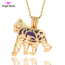 Angel Bola Jewelry Yoga Aromatherapy Essential Oils Surgical Perfume Diffuser Locket Necklace Drop Shipping L179