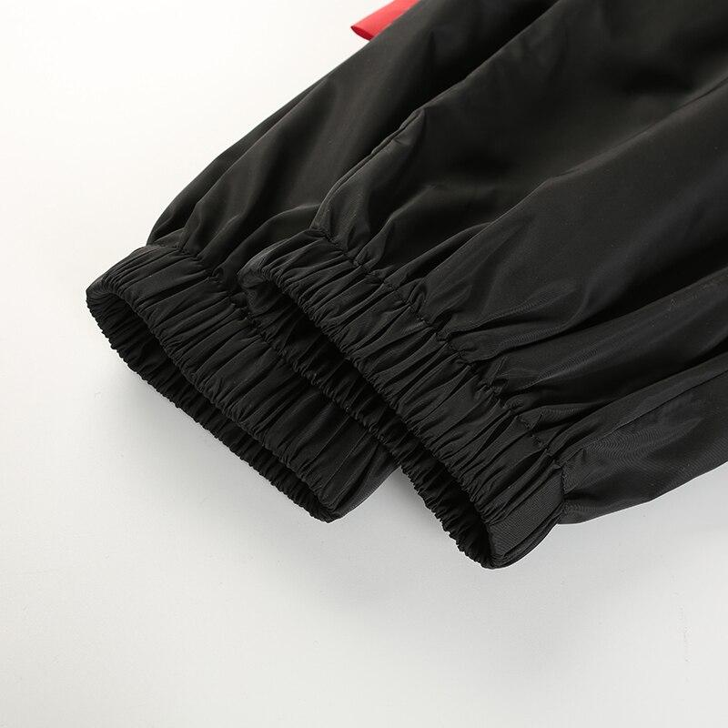 14Sweetown Plus Size Pantalon Large Femme Black Harajuku Cargo Sweat Pants Korean Style High Waist Baggy Joggers Women Sweatpants
