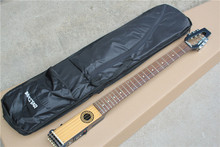 Hot Sale Custom Electric Travel Guitar,Portable Style,Rosewood Fretboard,22 Frets,with Soft Bag,can be Customized