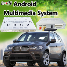 Backup Camera Android Navigation Interface for BMW X5 CIC with Mobilephone Miracast ,APPs Download , Real Time Navigation(China)