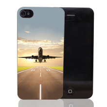 131T Airplane Takeoff Flight Hard Transparent Clear Case for iPhone 4 4s 5 5s SE 5c 6 6s 7 & Plus
