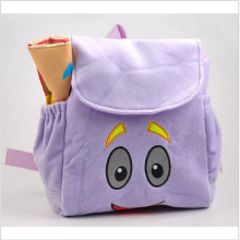 Animation cartoon kids schoolbags Dora Backpacks kid's small gifts backpacks plush cartoon PRE School Bags Toddler(China)