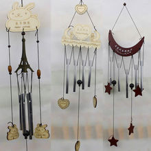 Brand New 2018 Newest Arrivals Creative Window Garden Yard Wind Chime Copper Wind Bells Tubes Home Decor Plaques Gifts(China)