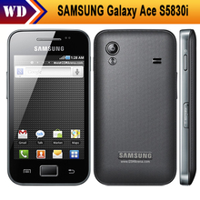 S5830i Samsung Galaxy Ace S5830 Original Android 5MP WIFI GPS Android Unlocked Mobile Phone Free Shipping Refurbished