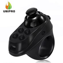 VIRTOBA R1 Mini Ring Bluetooth4.0 Rechargeable Wireless VR Remote Game Controller Joystick Gamepad for Android 3D Glasses