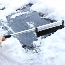 Portble Extension Pole Handle Retractable Winter Vehicle Scraper Shovel Snow Removal Tools Brush Wiper Blades(China)