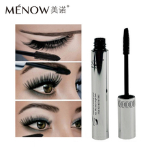 2017 Menow Brand Eye Mascara Makeup Long Eyelash Silicone Brush Curving Lengthening Colossal Mascara Waterproof Black(China)