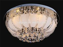 free shipping new led crystal ceiling lamp with MP3 music light modern led ceiling lights for living room