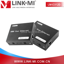 LINK-MI LM-EX120 Single Cat5e/6 HDMI IR Extender 120m Over TCP/IP Standard