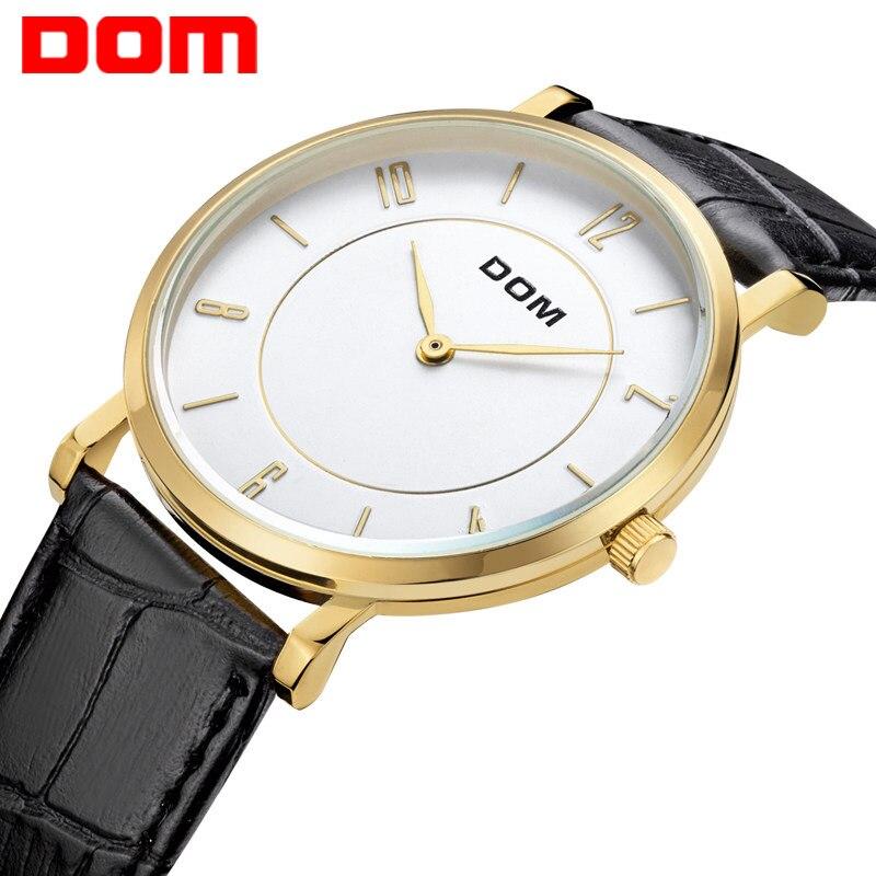 DOM watches luxury brand waterproof style quartz leather gold nurse watch relojes mujer reloj M31<br><br>Aliexpress