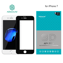 Nillkin AP+ Pro Full Cover Tempered Glass Screen Protector for iPhone 7 9H Hard Full Screen 3D Touch Glass