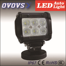 OVOVS hot sale factory price auto part 12v 18w 4x4 led light bar for offroad truck tractor ATV SUV