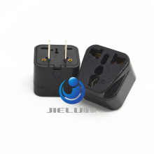 2016 US 2-Flat pin Type A Universal Multiple AC Travel Power Plug Adapter Converter Japan Taiwan the Thailand EU TO USA PULG(China)