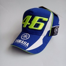 hot sale 2017 High Quality MOTO GP 46 Motorcycle Embroidered F1 Racing Cap Men Women Snapback Caps Rossi VR46 Baseball Cap Hats(China)