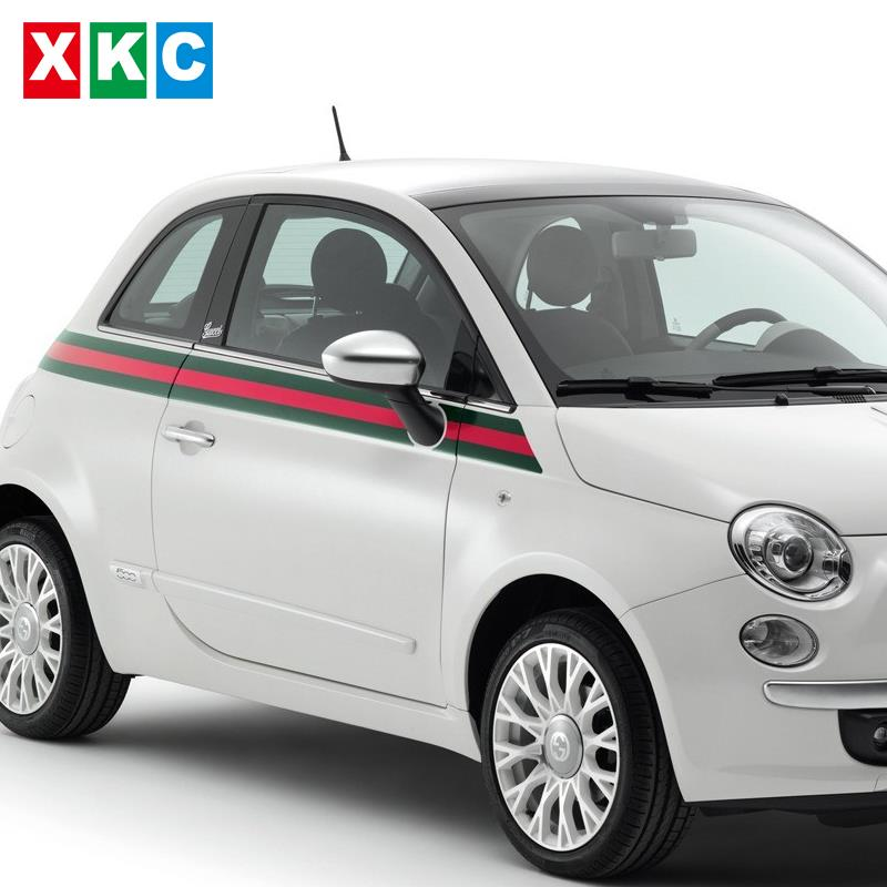 Car decoration garland waistline modified car stickers for FIAT500 Edition Car-Styling<br>