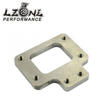 LZONE RACING - T2 T25 T28 GT28 Stainless Steel Weld On Turbo Manifold Exhaust Flange For Nissan JR2529(China)
