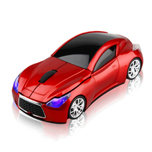 Computer Mouse 2.4GHz Infiniti Sports Car Wireless Mouse 1600 DPI Optical USB Gaming Mice for PC Laptop