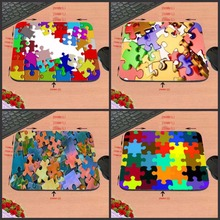 Puzzle Pieces DIY Luxury print New Design Make Your Own Amazing Mouse Pad Customized Computer Notebook Great Star Mouse Mat