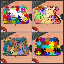 Puzzle Pieces DIY Luxury print New Design Make Your Own Amazing Mouse Pad Customized Computer Notebook Great Star Mouse Mat(China)