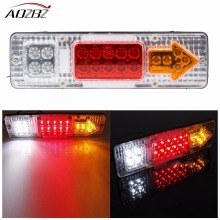 2PCS Waterproof 12V 19 LED Car LED Taillight Reversing Indicator Trailer Truck Boat Car Styling Warning Turn Signal Lights(China)