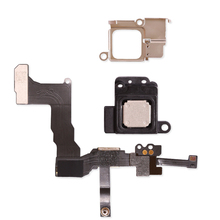 New Front Camera  Proximity Sensor Light Flex Cable With Earpiece Speaker with Metal Bracket For iPhone 5C Assembly Flex Cable