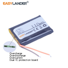 Easylander 3.7V 110mAh Replacement li-Polymer Li-ion Battery For  SONY SBH20 SBH-20 bluetooth headset