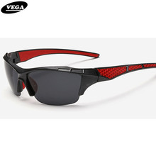 VEGA  Mountain Road Sports Sunglasses for biker Driver  Polarized Shooting Sun Glasses For Men Women Plastic Half Frame 1098
