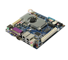 Mobile-ITX dualcore Ram ddr3 PC 1333 2GB motherboard with Atom ITX2550 1*PCI slot(China)
