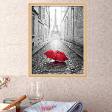 Home Decor 5D DIY Diamond Embroidery Diamond Mosaic Bedroom Red Umbrella Point Diamond Paste Diamond Painting Cross Stitch