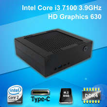3.9GHz! Defeat i7 7500U i7 5557U, Wolferdtech Mini PC with i3 7100 CPU, DDR4 RAM+M.2 SSD, USB type-C, Wifi and BT, Windows 10 64