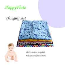 Happyflute print PUL Baby Diaper changing Mats, Waterproof Blanket, 73x73cm Blanket 1pcs(China)