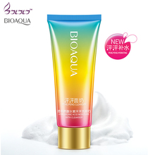 BIOAQUA Hyaluronic Acid Pore Cleanser Deep Cleaning Whitening Moisturizer Facial Cleaner Skin Care Face Washing Face Moisturizin(China)