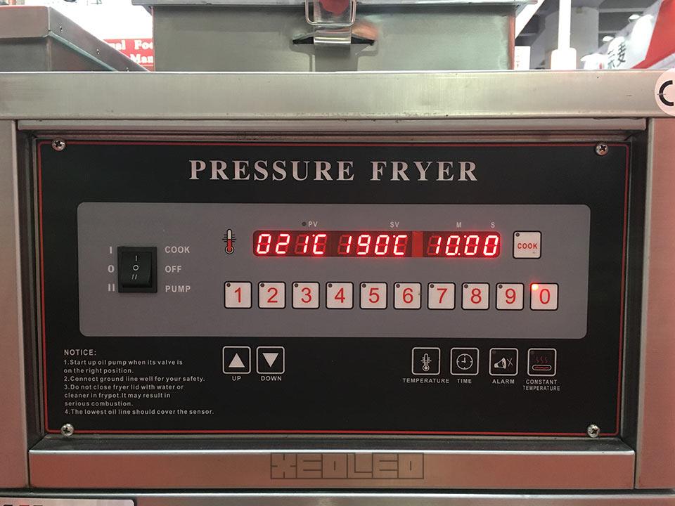 Gas computer pressure fryer (7)
