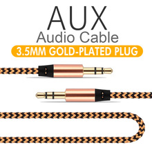High Quality 3.5mm Male to Male Audio USB Cable Jack 3 5 Aux Cable For iPhone Samsung Car MP3 MP4 Headphone Wire Cord