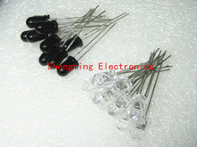 20pcs 5mm 940nm LEDs infrared emitter and IR receiver 10pairs diodes F5 NEW 300A