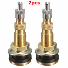 2PCs Air Water Tubeless Tire Valve Stems Wheel Rim TR618A For Agricultural/Farm Tractor