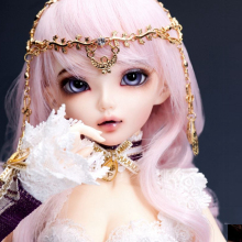 OUENEIFS bjd sd dolls fairyland minifee chloe sarang 1/4 body model reborn girls boys eyes High Quality toys makeup shop resin(China)