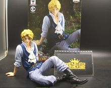 Original Banpresto Scultures big model special sabo anime one piece figure toy