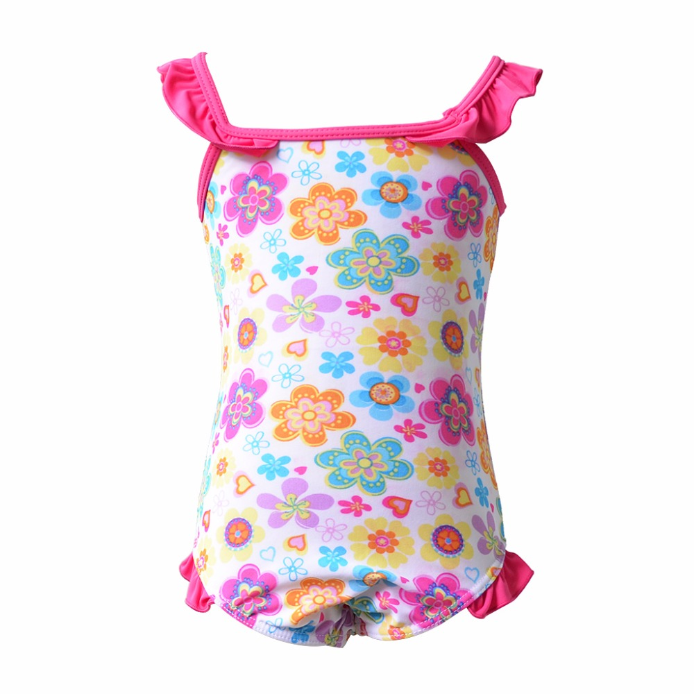 Cute Print Children Kids Swimming Suit Costume Girl Swimsuit Maios Baby Bikinis Meias Infantil Blancanieves Dress Girls