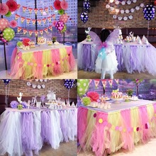DIY 6''*25yds Tulle Roll Bridal Party Wedding Decoration Spool Tutu Baby Shower Birthday Gifts diy tulle Crafts Birthday decor(China)