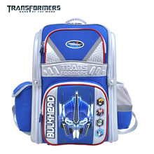Transformers children/kids cartoon orthopedic elementary school bag books shoulder bag portfolio   for boys grade 1-3