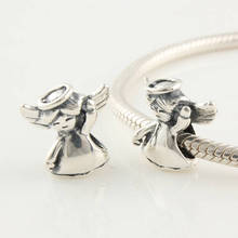 Buy Authentic 925 Silver Beads Fits Pandora Charm Bracelet Dancing Girl Angel Bead European Charm Women Jewelry Drop for $9.69 in AliExpress store