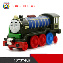 COLOR HIRO One Piece Diecast Metal Train Toy Thomas and Friends Megnetic Train The Tank Engine Toys For Children Kids Gifts