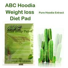 (2 Packs Supply) Nature Hoodia Cactus Extracts burn fat appetite control Pure Hoodia gordonii extracts patch 2 months use(China)
