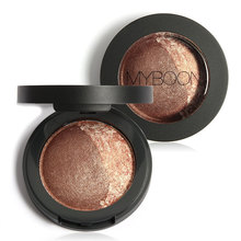 MYBOON Eye Shadow Baked Eyeshadow Two Shade in a Palette Baked Eye Shadow Ultra-fine Mineral Texture B06