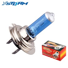 H7 55W 12V Halogen Bulb 6000K Super Xenon White Fog Lights High Power Car Headlight Lamp Car Light Source Car Styling parking(China)