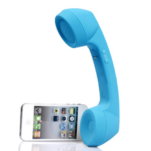 2016 New wireless Bluetooth Mic Retro Telephone Cell Phone Handset Receivers mobile phone  Bluetooth Handset