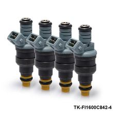 TANSKY-4PCS/LOT High performance fuel injector 0280150842 1600cc fuel injector 0280 150 842/0280150846 for Chevy TK-FI1600C842-4
